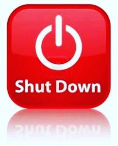 Corona Shutdown